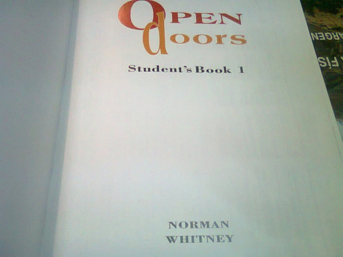 libro en ingles open doors