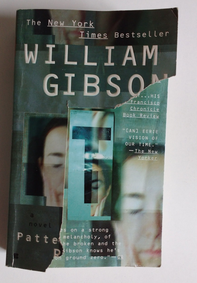 Pattern Recognition William Gibson Magnificent Inspiration Ideas
