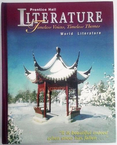 libro en inglés - prentice hall world literature