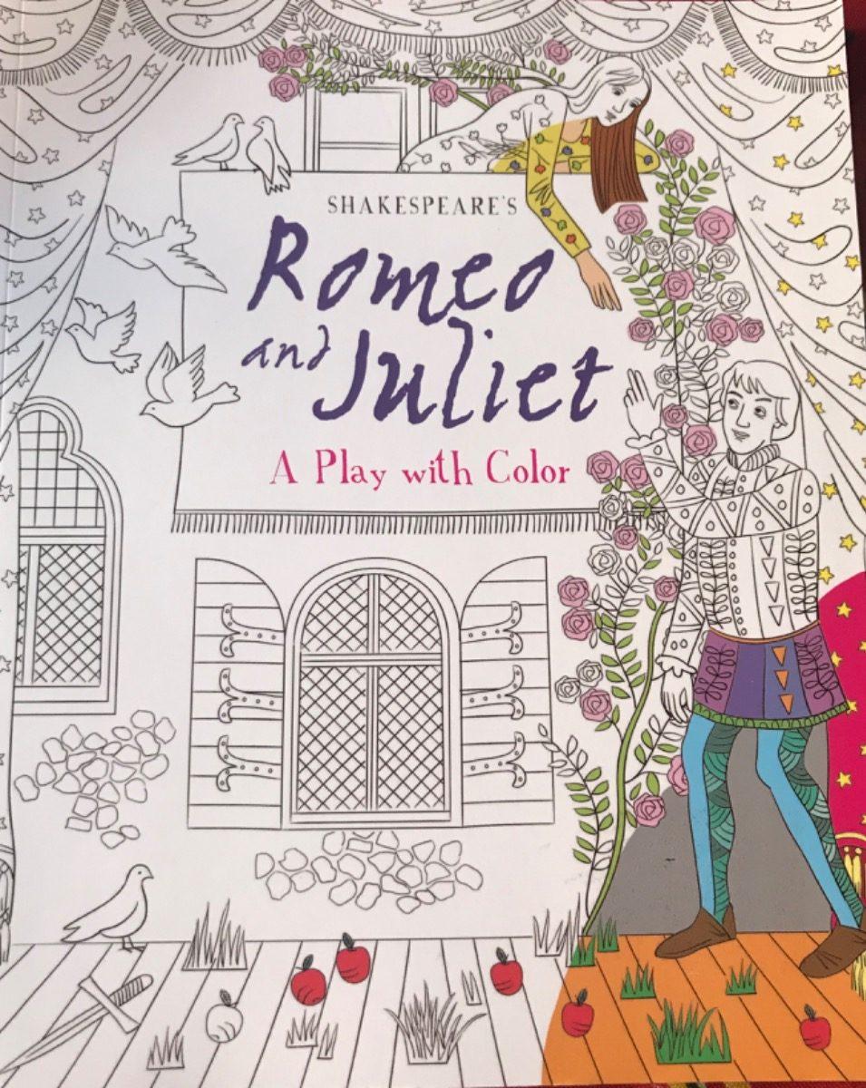Libro En Inglés Romeo Y Julieta Para Colorear 35000 En