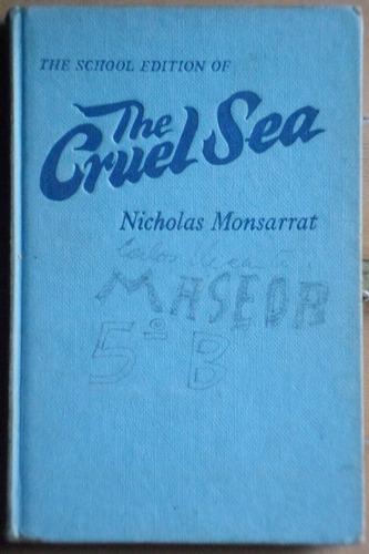 libro en inglés: the cruel sea / nicholas monsarrat