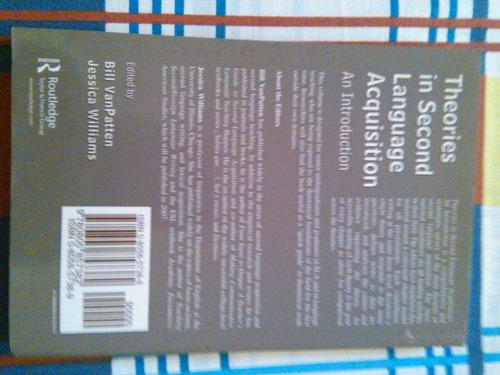 libro en inglés theories in second language acquisition