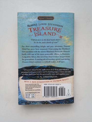 libro en ingles - treasure island - robert louis stevenson