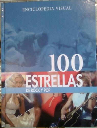 libro enciclopedia visual 100 estrellas de rock y pop