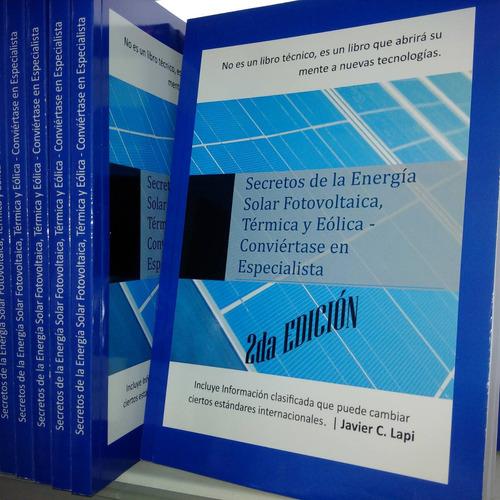libro energía renovable solar curso capacitación aprenda ya