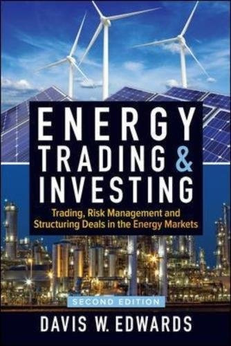 libro energy trading and investing: trading, risk management