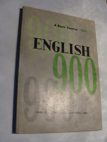 libro english 900 two , 147 paginas   , año 1971