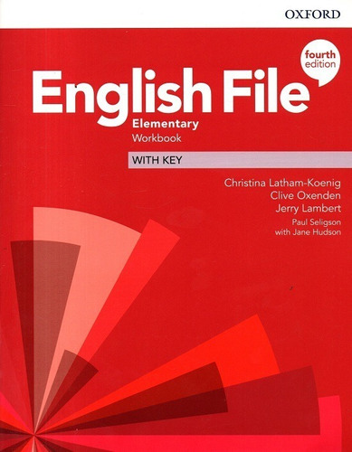 libro: english file elementary student's book + workbook 4ed
