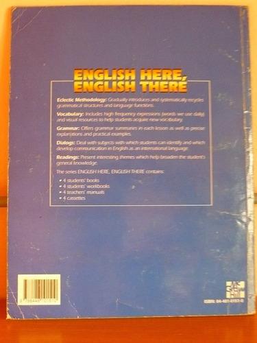 libro english here english there book 2