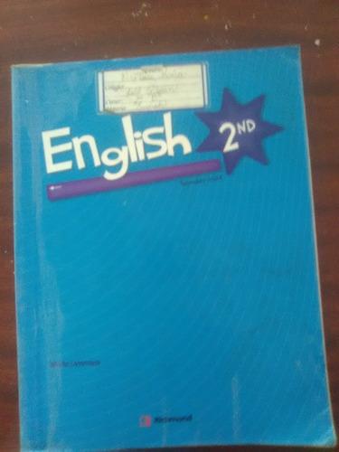 libro english secundary school maría latorraca 2do y 3er año
