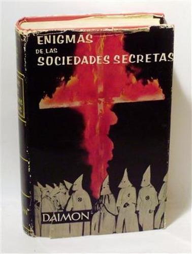 libro, enigmas de las sociedades secretas g. k. morberger.