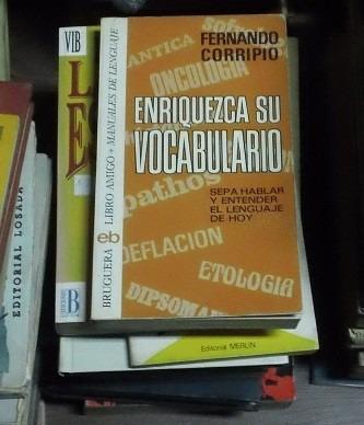 libro enriquezca su vocabulario fernando corripio