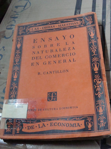 libro ensayo sobre la naturaleza del comercio en general , r