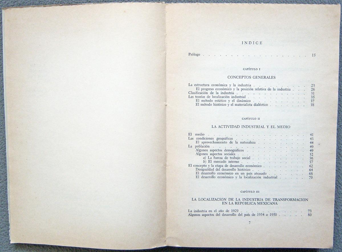 Libro Ensayo Sobre Localización De La Industria En México 180 00