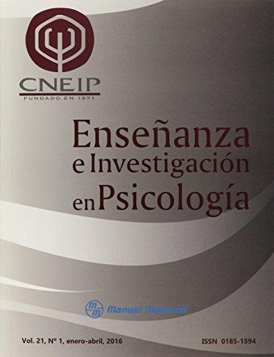 libro enseñanza e investigación en psicología. no. 1 enero-j