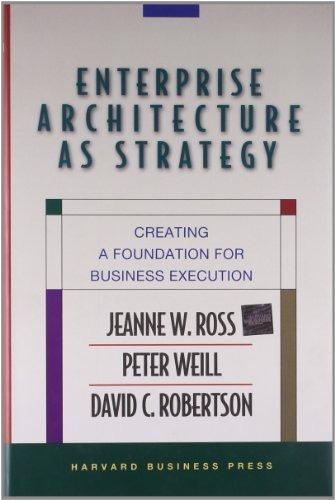 libro enterprise architecture as strategy: creating a founda