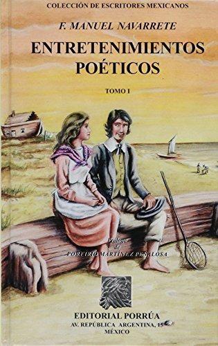 libro entretenimientos poeticos 1-2 - nuevo