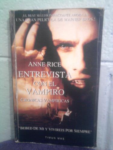 libro entrevista con el vampiro adaptación ann rice