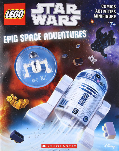 libro epic space adventures - nuevo
