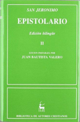 libro epistolario de san jerónimo. ii: cartas 86-154 - nuevo