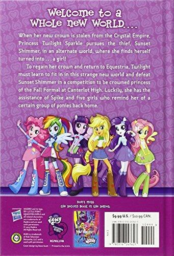 libro equestria girls: through the mirror - nuevo
