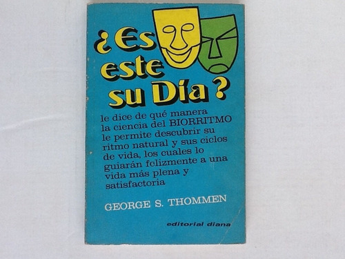 libro es este su dia? george s. thommen ed. diana 1977