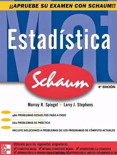 libro: estadística - serie schaum - pdf