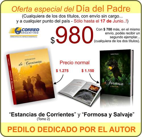 libro estancias de corrientes tomo 2 con envio incluido