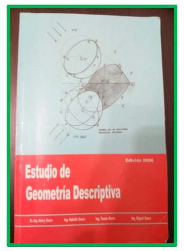 libro estudio de la geometría descriptiva harry osers