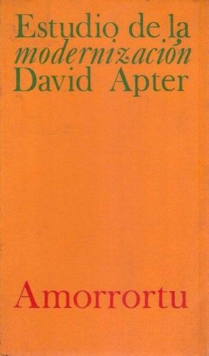 libro, estudio de la modernización de david apter.