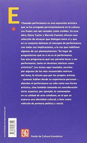 libro : estudios avanzados de performance (arte universal...
