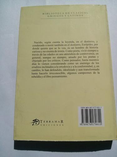 libro @ eurípides teatro completo i clásicos griegos latinos