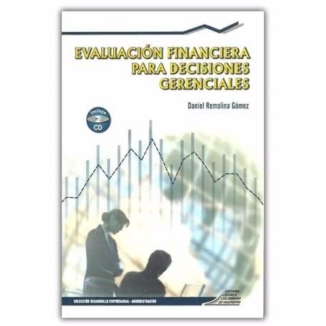 libro: evaluación financiera para decisiones gerenciales