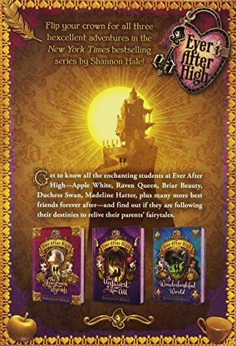 libro ever after high: the storybox of legends - nuevo
