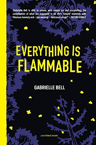 libro everything is flammable - nuevo