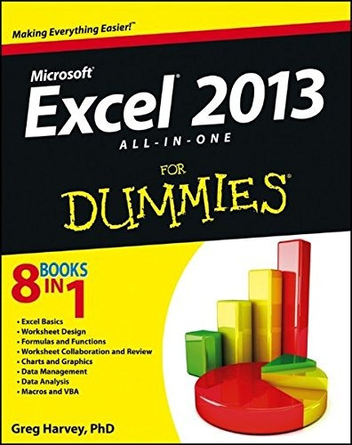 libro excel 2013 all-in-one for dummies - nuevo