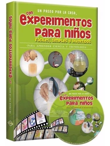 libro: experimentos para niños fáciles, simples y divertidos