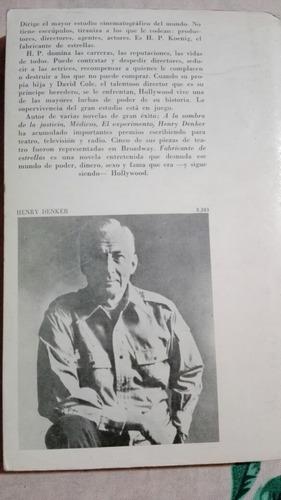 libro fabricante de estrellas - henry denker
