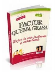 libro factor quema grasa original-completo-software