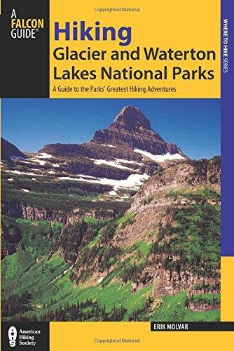 libro falcon guide hiking glacier and waterton lakes natio