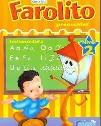 libro farolito prescolar lectoescritura