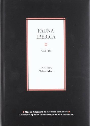 libro fauna ibérica. vol. 18. diptera: tabanidae - nuevo