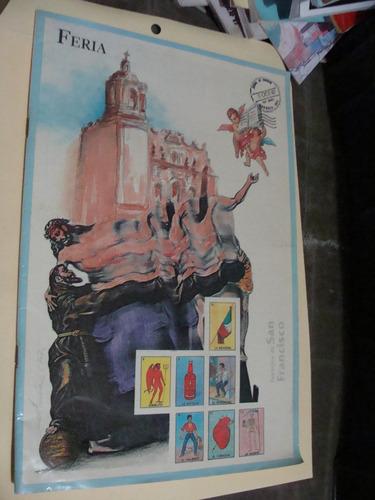 libro feria san francisco pachuca hidalgo  , año 1987 , 48 p