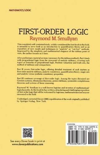 libro first-order logic - nuevo