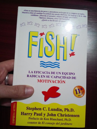 libro fish de stephen c. lundin, harry paul