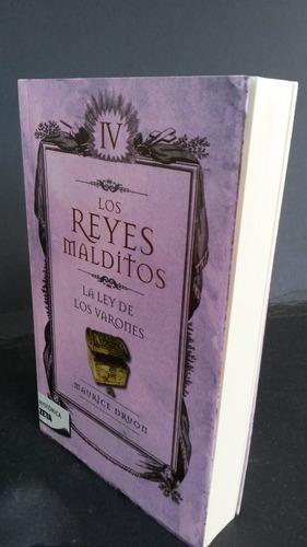 libro físico, de la serie,  los reyes malditos  ,tomo  iv