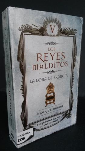 libro físico, de la serie  los reyes malditos , tomo  v .