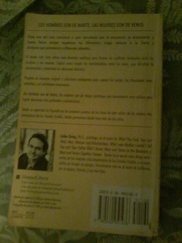 libro físico los hombres son de marte las mujeres son de ven