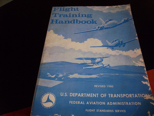 libro flight training handbook. entrenamiento de vuelo avion