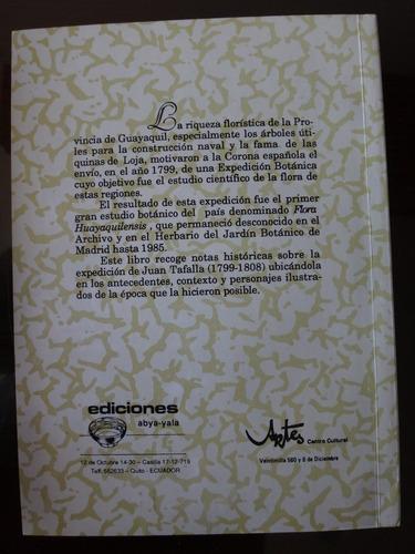 libro flora guayaquilensis de juan tafalla eduardo estrella